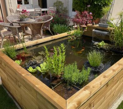 bassin hors sol terrasse